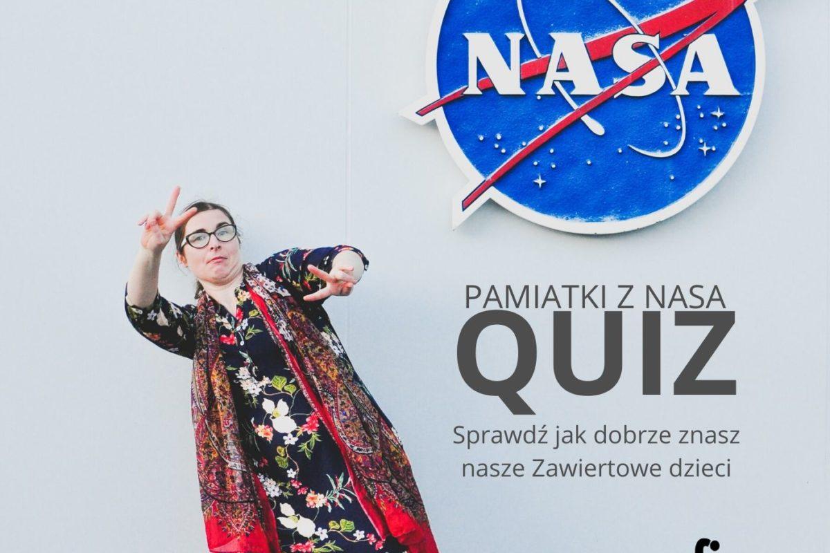 Pamiątki z NASA- quiz. Sprawdź, czy nas znasz!